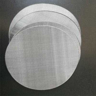316 stainless steel plain filter screen discs