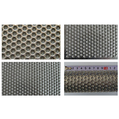 Punching Plate Stainless Steel Sintered Net